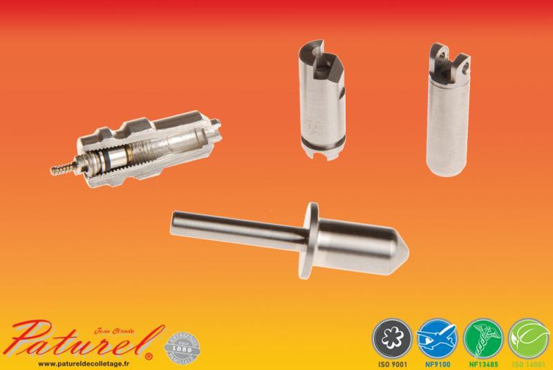 PATUREL DECOLLETAGE - Fabricant de valves et de pistons en acier Réalisation de pièces de décolletage pour l'assemblage d'ensemble et de sous-ensemble à destination de l'industrie automobile
