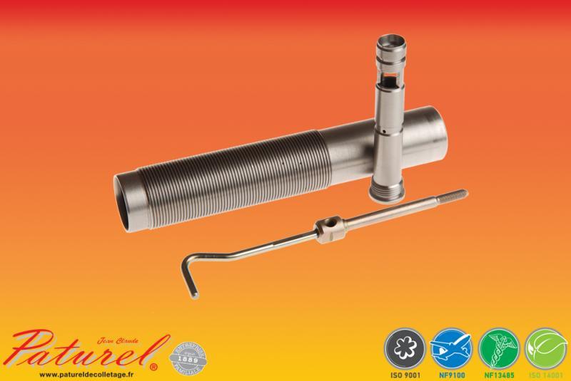 PATUREL DECOLLETAGE - Usinage de pièces de mécanique Production de pièces de mécanique de précision en acier à destination de l'industrie automobile