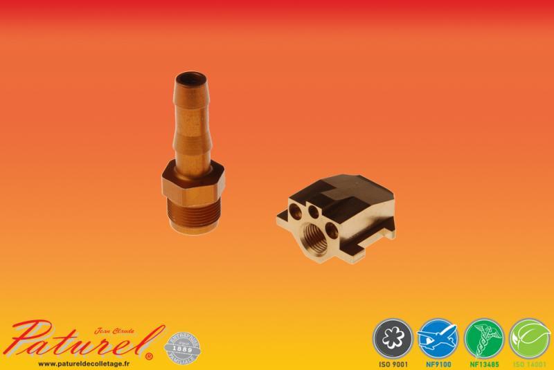 PATUREL DECOLLETAGE - Fabrication de raccords en laiton et aluminium destinés à toutes les industries
