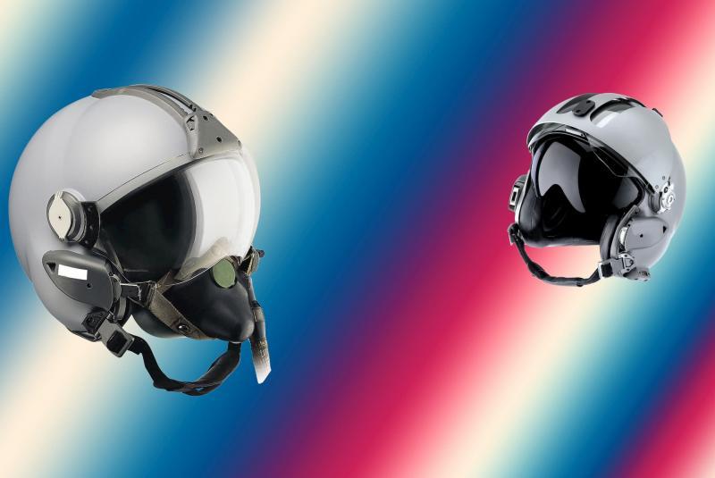 LB INDUSTRIE - Usinage de pièces utilisées sur des casques de pilotes d'avions, d'hélicoptères civiles et militaires