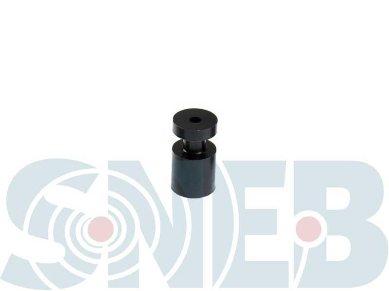 SNEB DECOLLETAGE - Fabricant de butée Ø 7 en plastique Delrin noir à destination du marché du cycle.