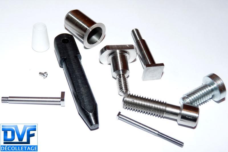DVF DECOLLETAGE - Sous traitance décolletage pièces en acier, inox et plastique