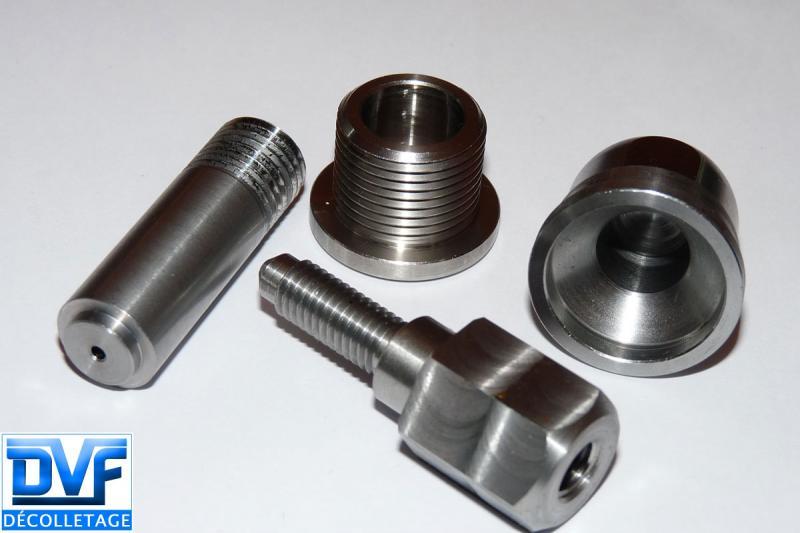 DVF DECOLLETAGE - Sous traitance décolletage pièces en acier