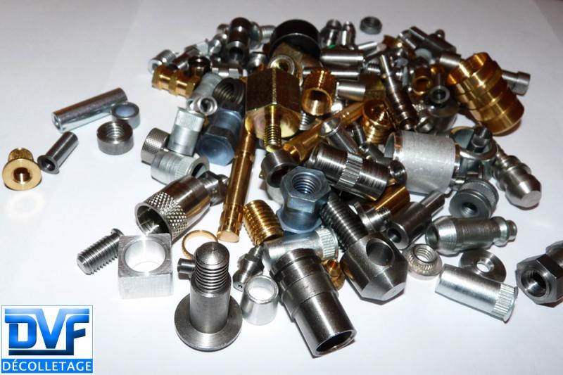 DVF DECOLLETAGE - Sous traitance décolletage pièce mécanique tous métaux
